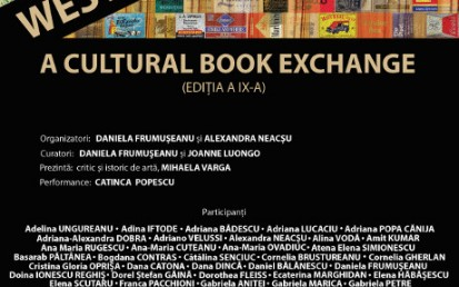 WEST MEETS EAST 2018 – A Cultural Book Exchange (editia a IX-a) @ Bucuresti