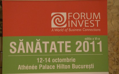 Forum Invest Healthcare 2011 - ziua I