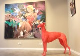 Liviu Mihai - Marilyn and the pink dog