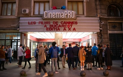 Catena, sponsor traditional Les Films de Cannes a Bucarest
